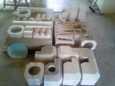 Stavby akumulačních kamen ze stavebnicového systému KTS a Brula