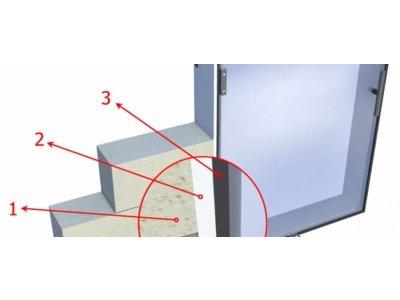 Samolepící izolační papír 30x4mm – cena/1bm