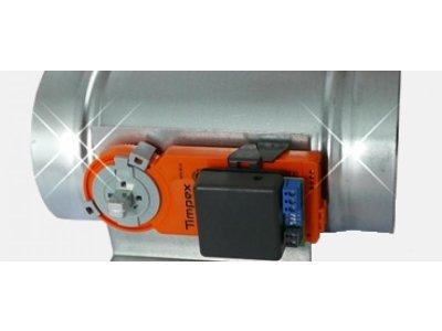 Instalace regulační klapky a serverpohonu Timpex REG010