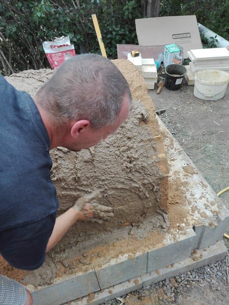 21. července 2018 - Workshop stavby hliněné pece a seznámení s bambusem